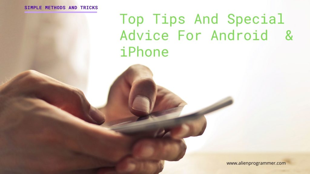 top tips for android
