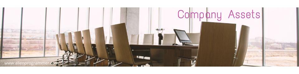 company assets