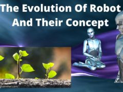 Evolution of robot